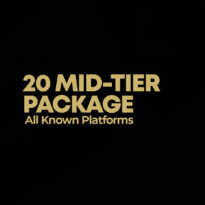 20 MID-TIER PRESS PACKAGE