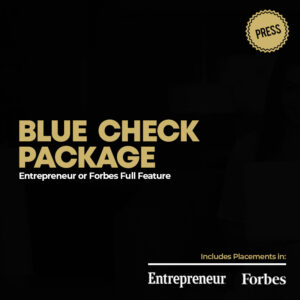 Blue Check Press Package