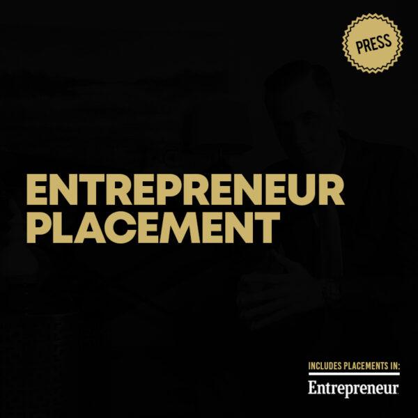 Entrepreneur Article Placement